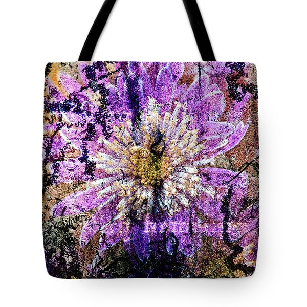 Floral Poetry Of Time Tote Bag
