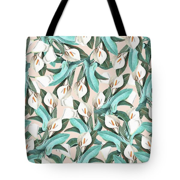 Floral Porn Tote Bag by Uma Gokhale