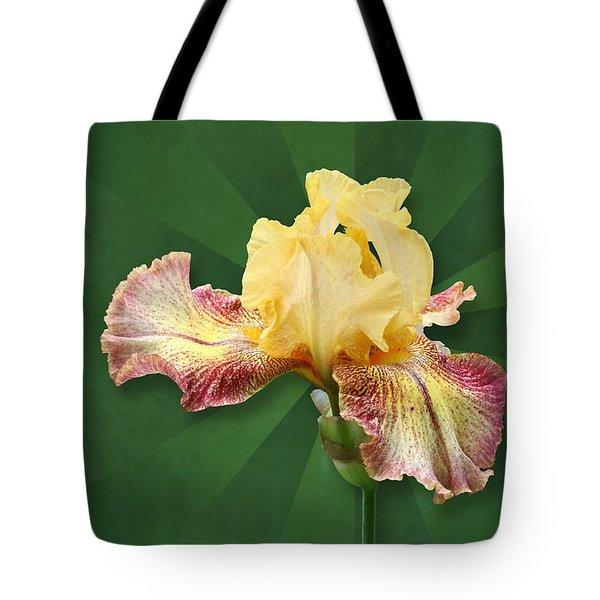 Floral Radiance Tote Bag