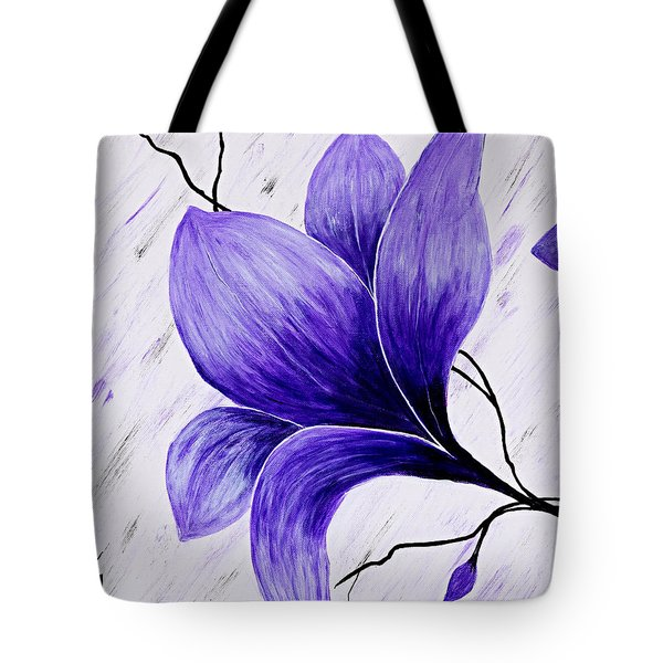 Floral Slumber Tote Bag