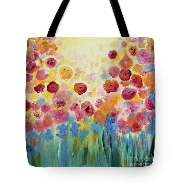 Floral Splendor II Tote Bag
