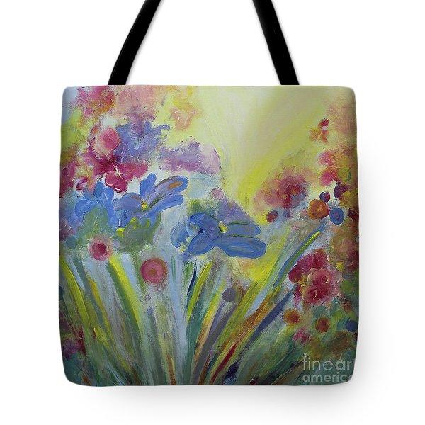 Floral Splendor Tote Bag