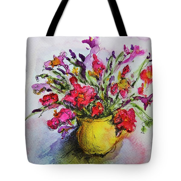 Floral Still Life 05 Tote Bag