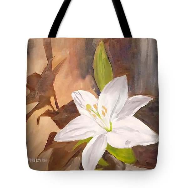 Floral-still Life Tote Bag