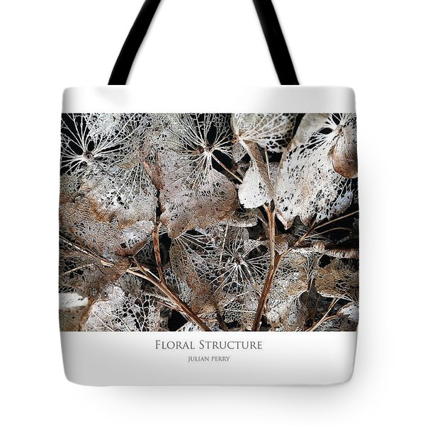Floral Structure Tote Bag