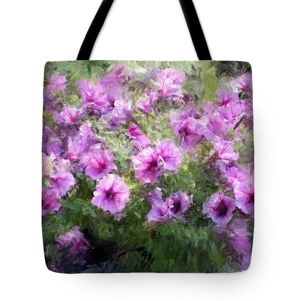 Floral Study 053010 Tote Bag by David Lane
