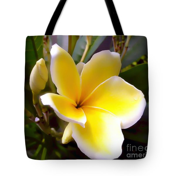 Floral Sunshine Tote Bag by Sue Melvin
