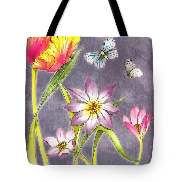 Floral Supreme Tote Bag by Mario Carini