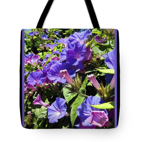 Floral Tango Tote Bag by Kurt Van Wagner