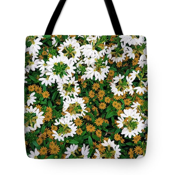 Floral Texture In The Summer Tote Bag