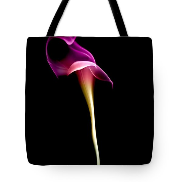Floral Wisp Tote Bag