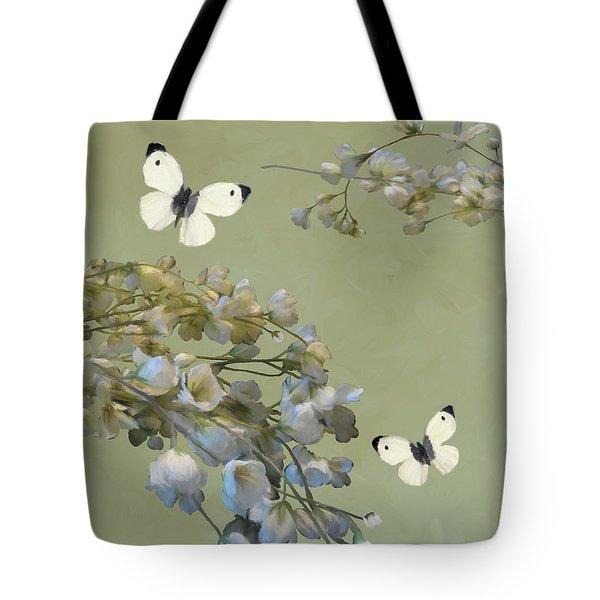 Floral07 Tote Bag
