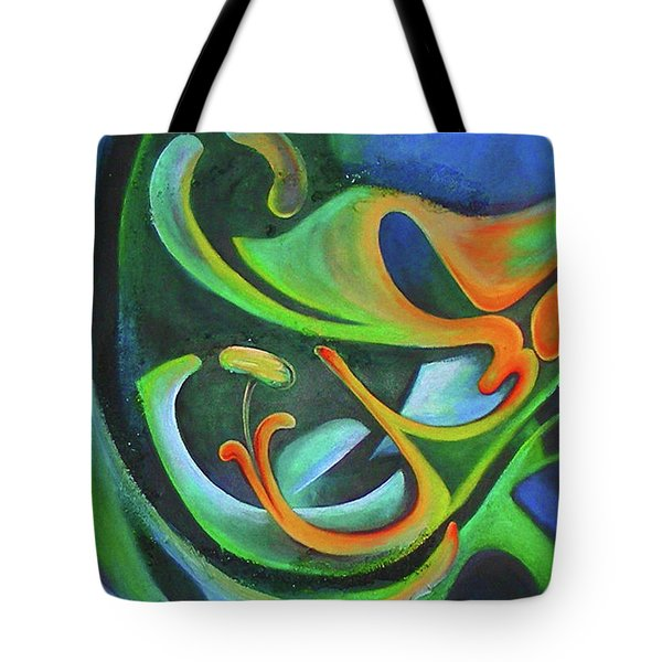 Floralblue Tote Bag