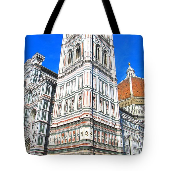 Florence Duomo Cathedral Tote Bag by Lisa Boyd