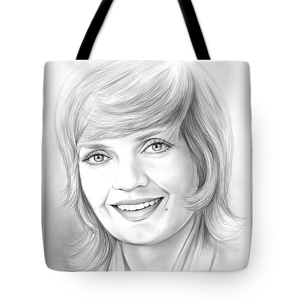 Florence Henderson Tote Bag
