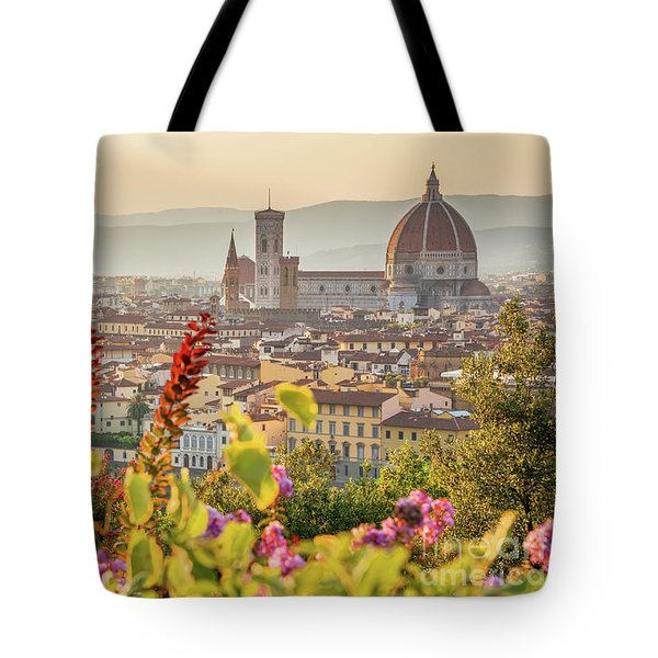 Florence In Summer Tote Bag