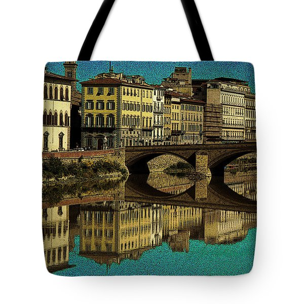 Florence Tote Bag by Jeff Breiman