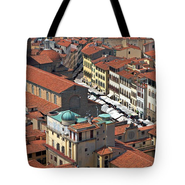 Florence Rooftops Tote Bag