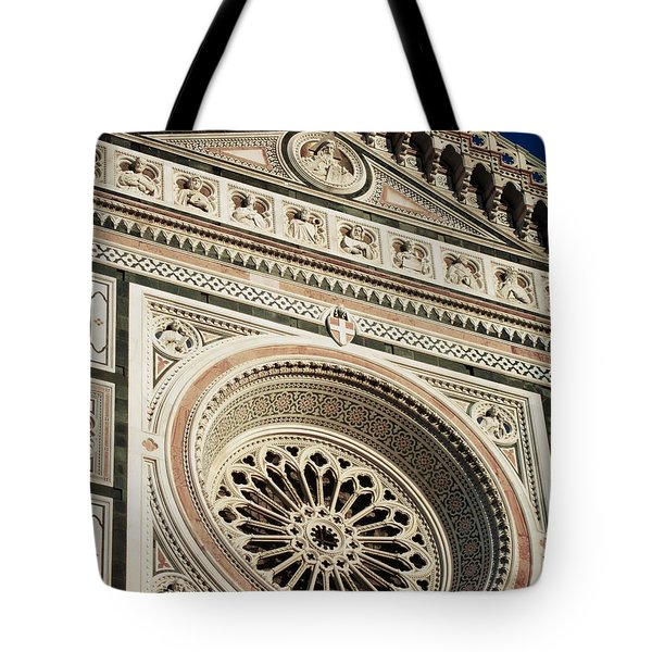 Tote Bag featuring the photograph Florence by Silvia Bruno