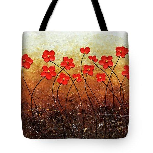 Flores De Mi Jardin Tote Bag