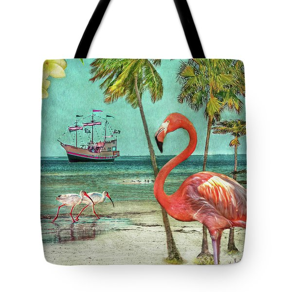 Tote Bag featuring the photograph Florida Advertisement by Hanny Heim