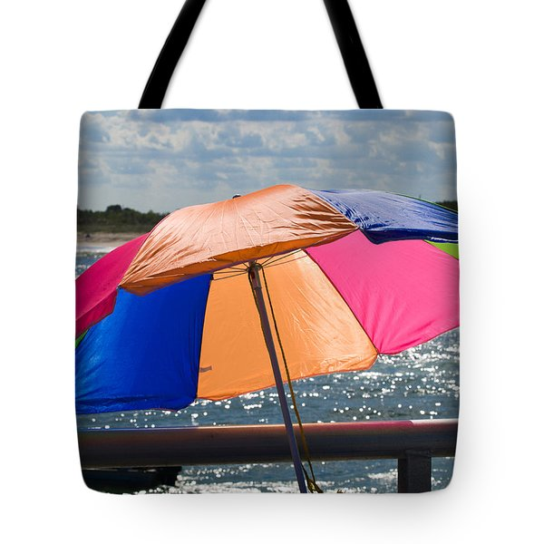 Florida Afternoon Tote Bag by Allan  Hughes