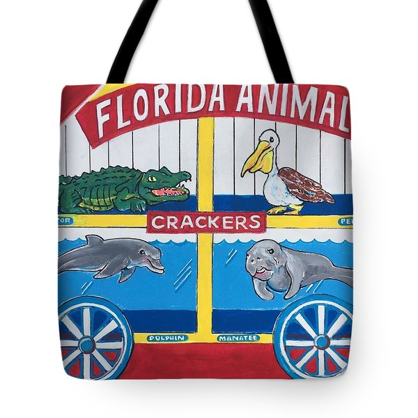Florida Animal Crackers Tote Bag