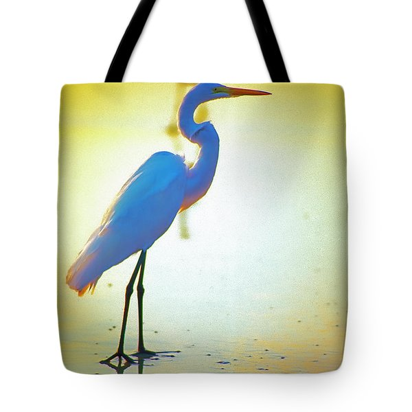 Florida Atlantic Beach Ocean Birds  Tote Bag