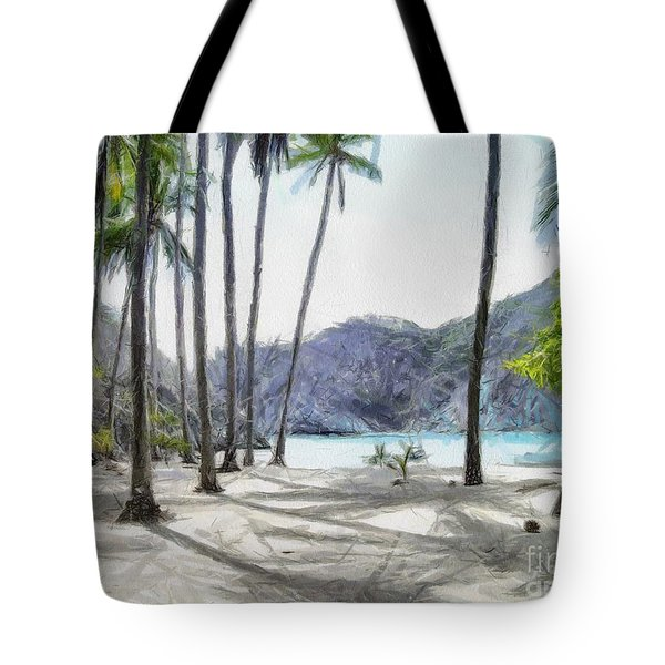 Florida Beach Tote Bag by Murphy Elliott