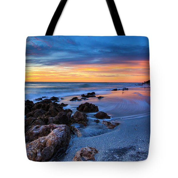 Florida Beach Sunset 3 Tote Bag
