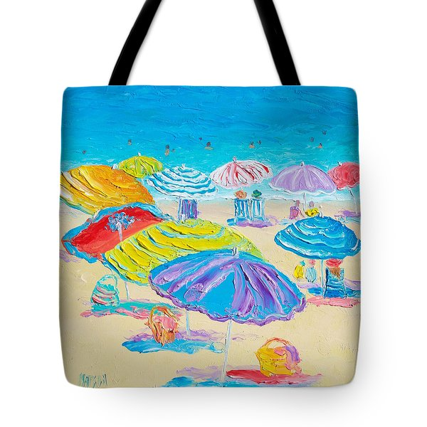 Florida Beach Umbrellas Tote Bag