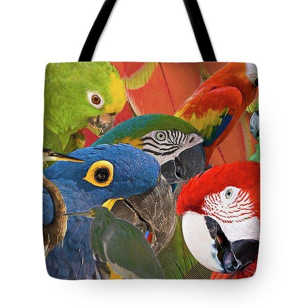 Florida Birds Tote Bag