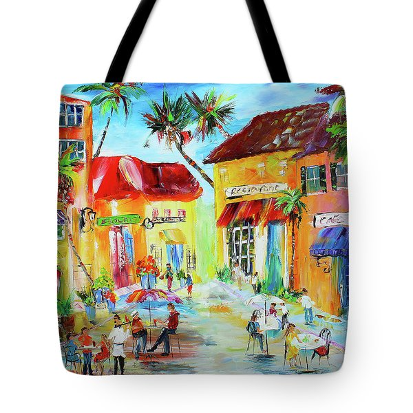 Florida Cafe Tote Bag