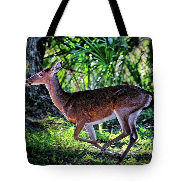 Florida Deer Tote Bag