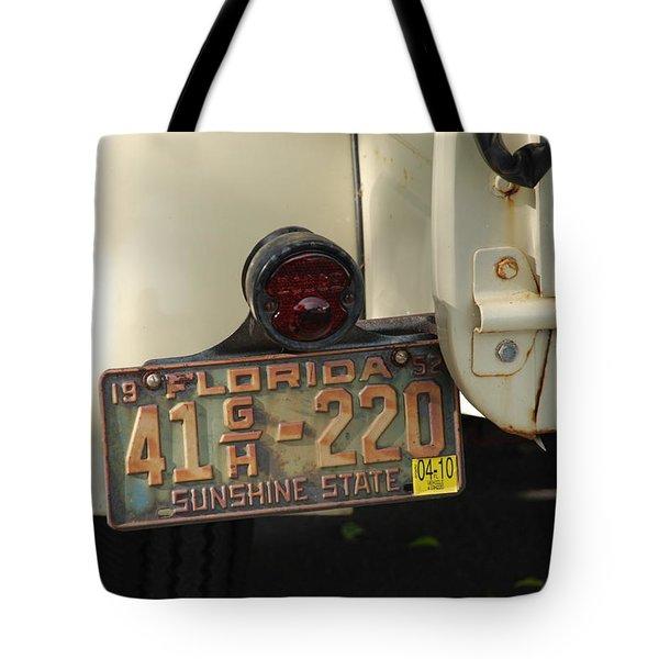 Florida Dodge Tote Bag by Rob Hans