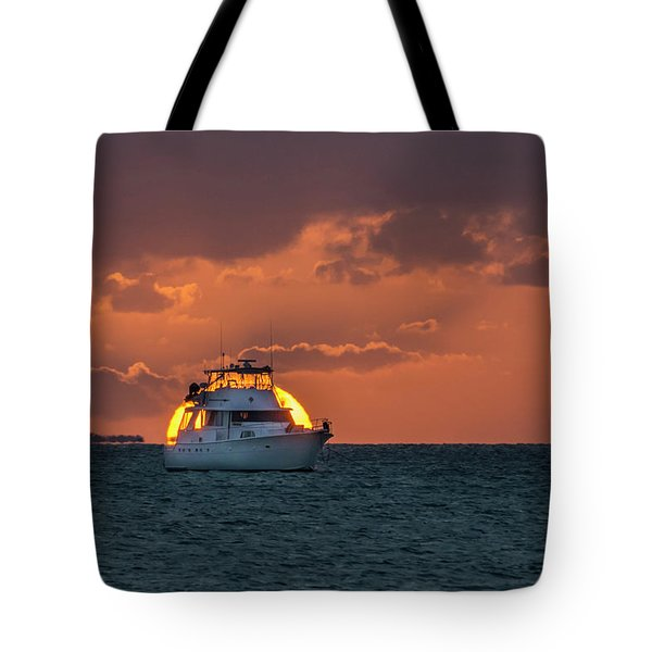 Florida Eclipse Tote Bag by Jerry Gammon