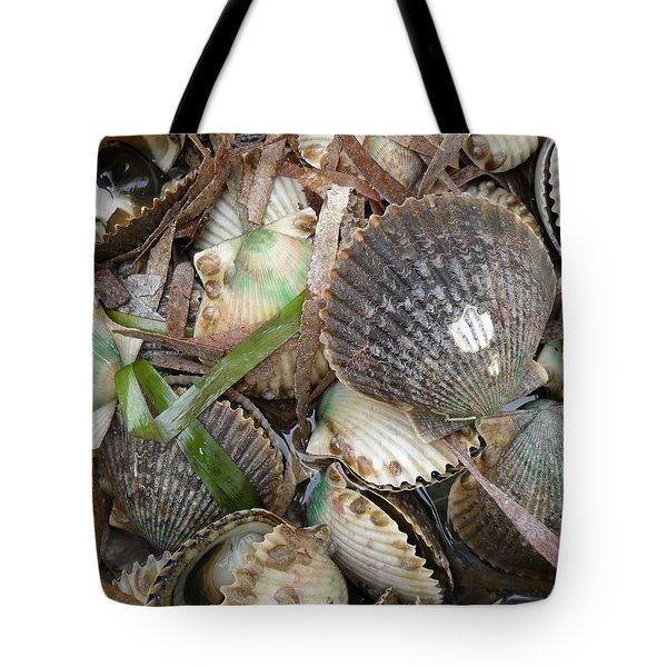 Florida Gulf Coast Scollops Tote Bag