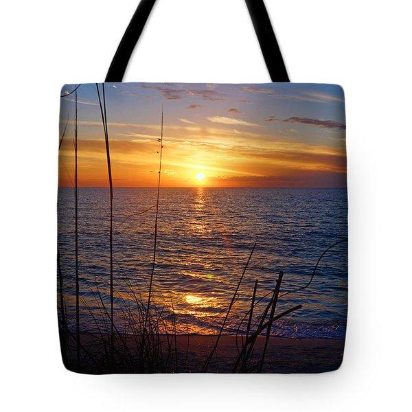 Florida Gulf Coast Sunset Tote Bag