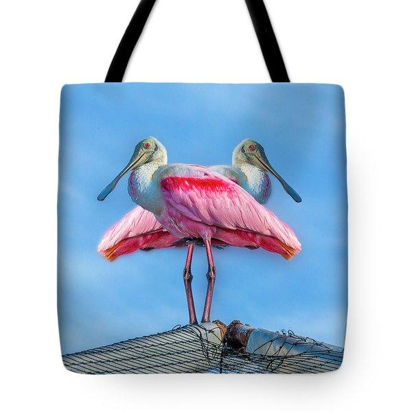 Florida Keys Roseate Spoonbill Tote Bag