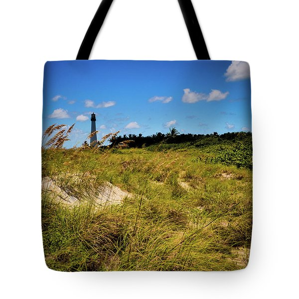 Tote Bag featuring the photograph Florida Lighthouse  by Kelly Wade