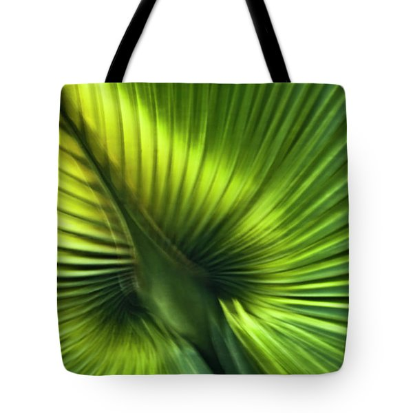 Florida Palm Frond Tote Bag by Carolyn Marshall