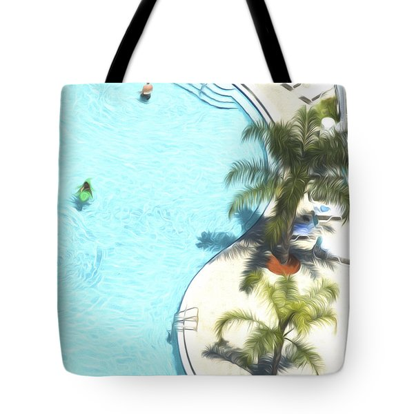 Florida Pool 33 Tote Bag