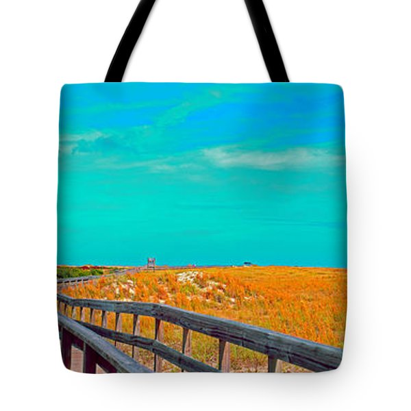 Florida Sand Dunes Atlantic New Smyrna Beach Tote Bag
