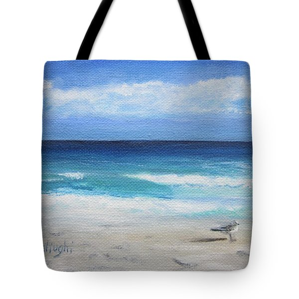 Florida Seagull Tote Bag