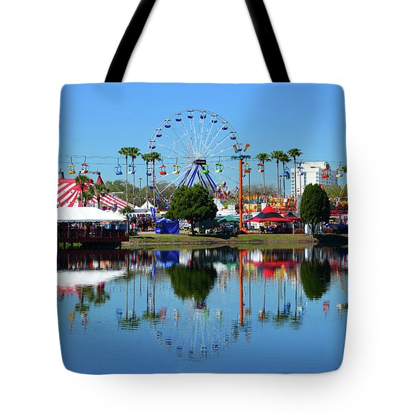 Tote Bag featuring the photograph Florida State Fair 2017 by David Lee Thompson