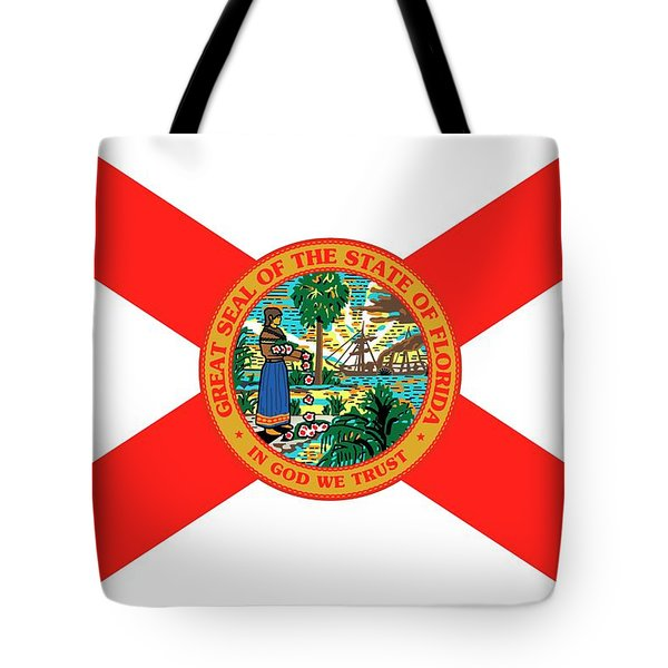 Florida State Flag Tote Bag by American School