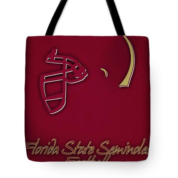 Florida State Seminoles Helmet Tote Bag