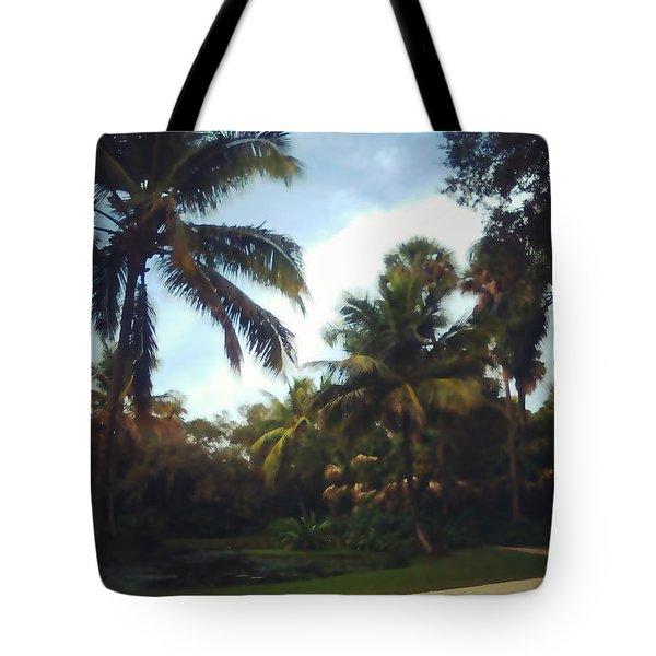 Florida Stroll Tote Bag
