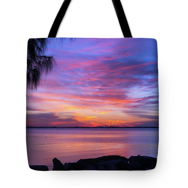 Florida Sunset #2 Tote Bag