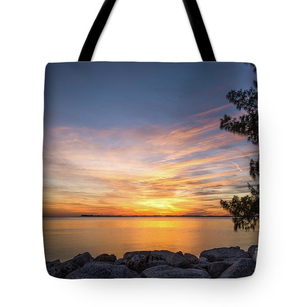 Florida Sunset #3 Tote Bag